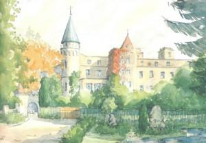Leśny Zamek w Szczytnej