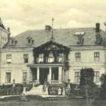 pałac w czasach świetności