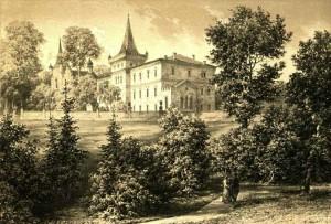 pałac w Zatorze stary