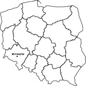 mapka Mściwojów